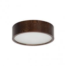 Plafoniera in legno Ø370 per lampade E27
