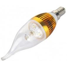 Lampadina LED E14 CANDELA COB 220V 3W