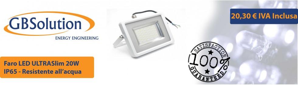 Faro LED Slim 30W
