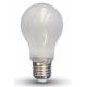 Lampadina  LED 4W E27 filamento satinata