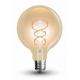 Lampadina  LED 5W Filamento curve