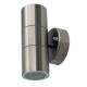 Applique da esterno per muro per lampadina 2xGU10 (MAX 20W)