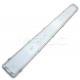 Plafoniera per tubi LED da 120cm doppio da esterno stagno