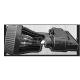 Proiettore a binario per lampadina GU10